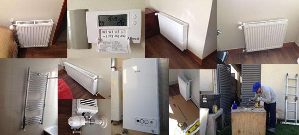 Instlacion de Calefaccion en casa en Chamisero